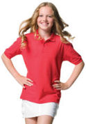 Childrenswear � Kids Poly/Cotton Polos � Jerzees Childrens Classic Polo Shirt