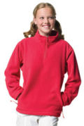 Childrenswear � Kids Quarter Zips � Jerzees Childrens 1/4 Zip Arctic Fleece